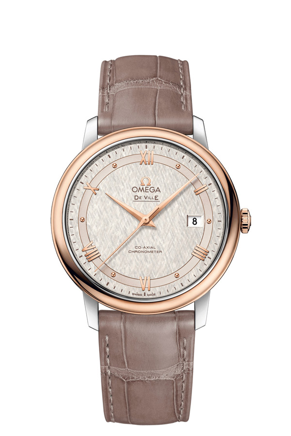 OMEGA De Ville Steel red gold Chronometer 424.23.40.20.02.003