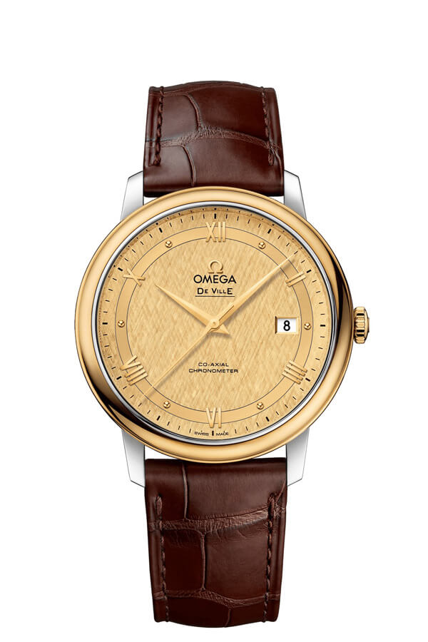 OMEGA De Ville Steel yellow gold Chronometer 424.23.40.20.08.001