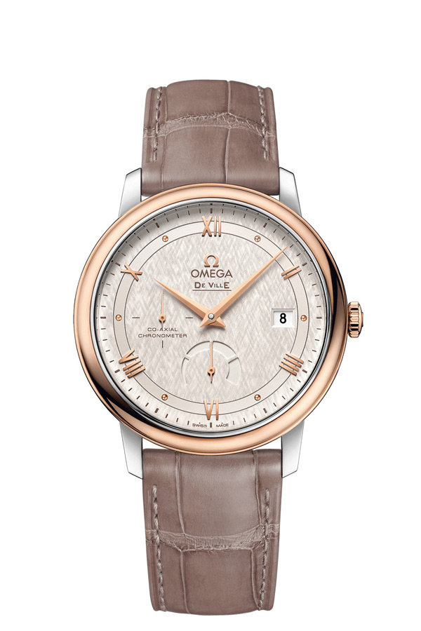 OMEGA De Ville Steel red gold Chronometer 424.23.40.21.02.001