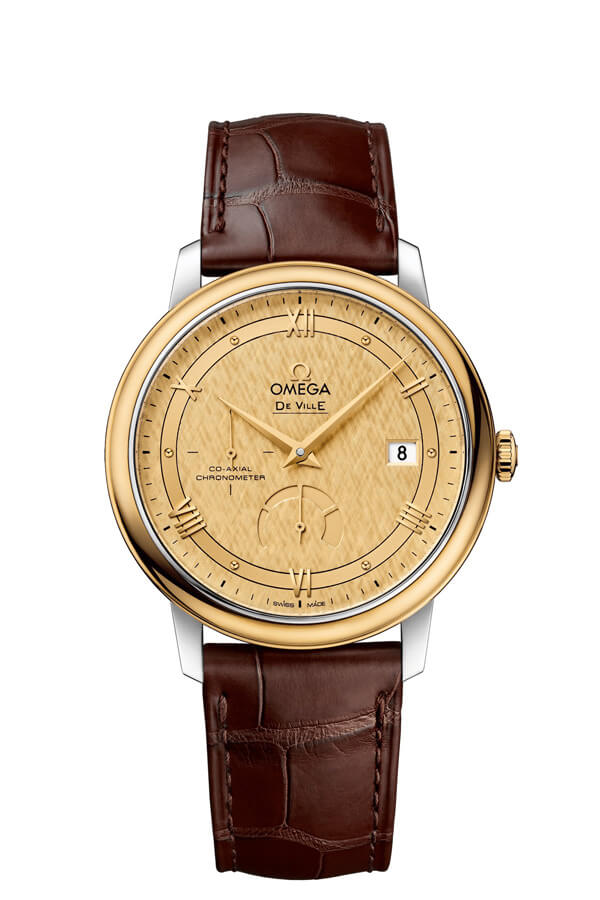 OMEGA De Ville Steel yellow gold Chronometer 424.23.40.21.08.001
