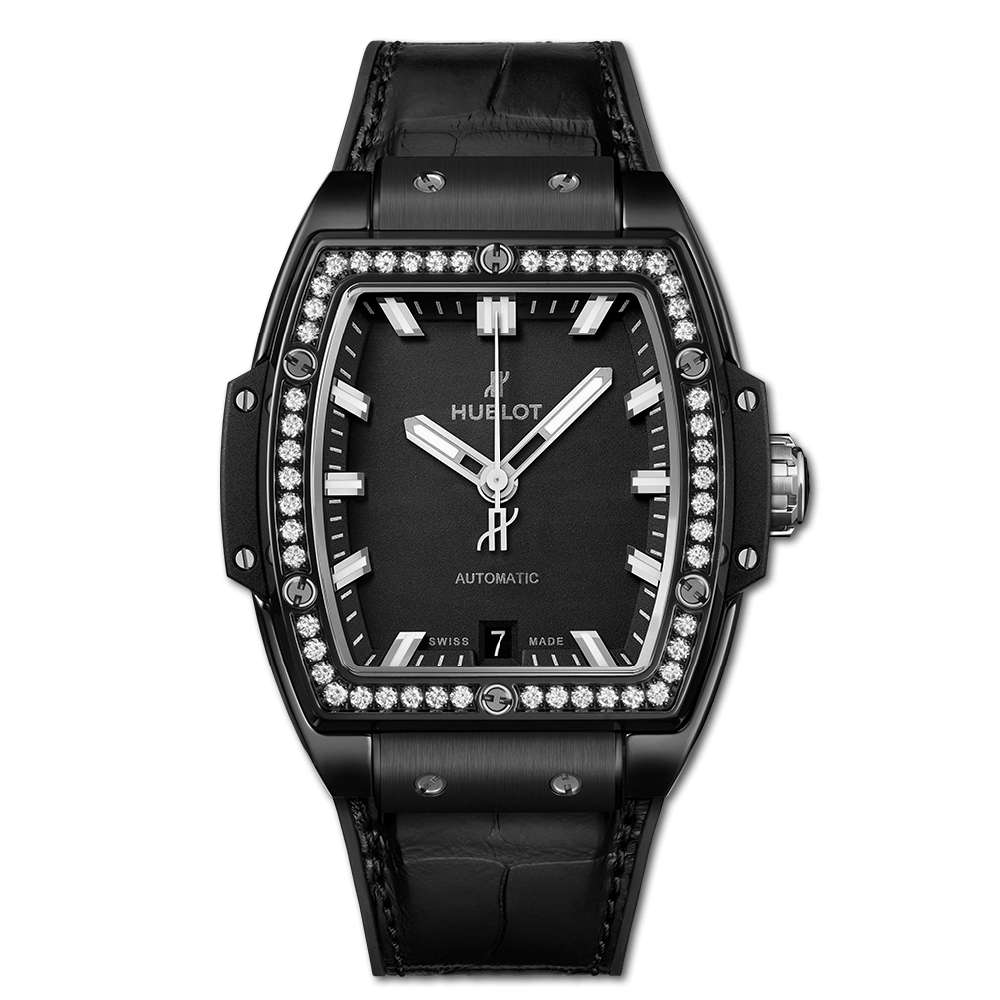 Hublot Spirit Of Big Bang Black Magic Diamonds Reproduction