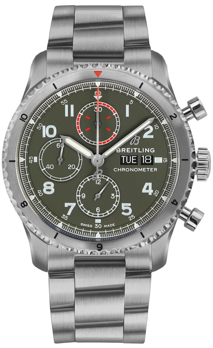Breitling Navitimer 8 Chronograph 43mm Stainless Steel A133161A1L1X2