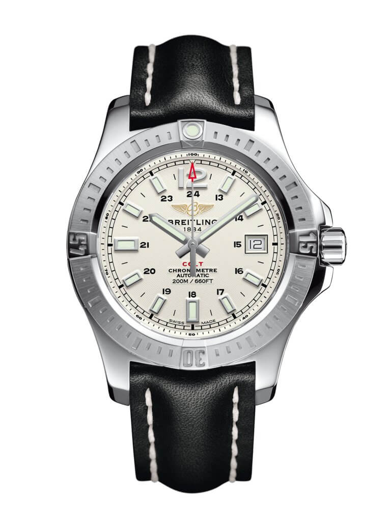 Breitling Colt 41 Automatic Silver A1731311/G820-428X
