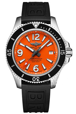 Breitling Superocean II 42 Steel Orange Dial A17366d71o1s1