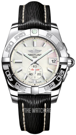 Breitling Galactic 36 Automatic White/Leather 36 mm A3733012-A716-213X-A16BA.1