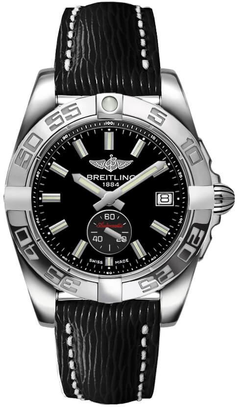 Breitling Galactic 36 Automatic Stainless Steel / Onyx Black / Sahara
