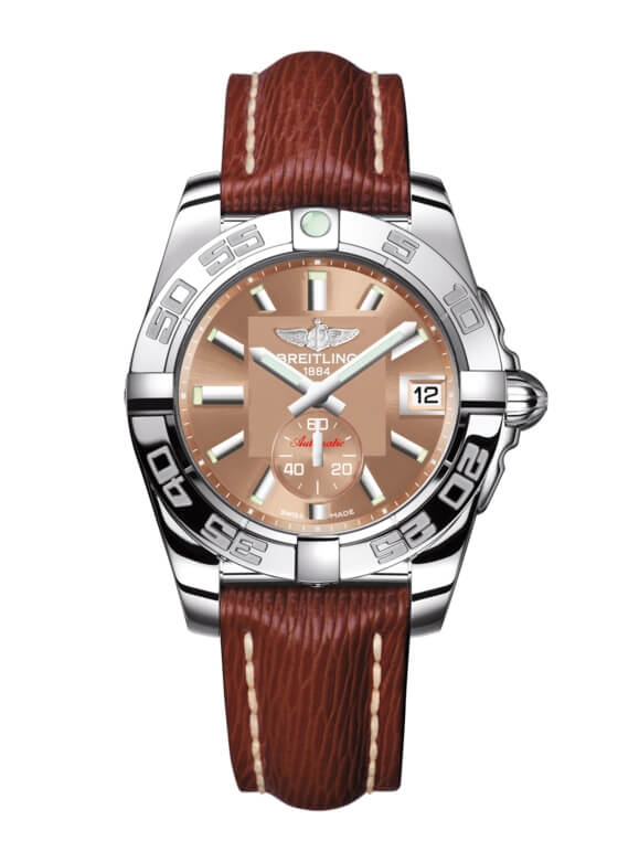 Breitling Galactic 36 Automatic Stainless Steel / Copperhead Bronze / Sahara (A3733012/Q582/216X/A16BA.1)