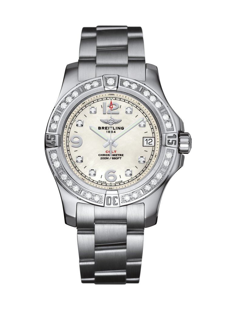 Breitling Colt Lady 36mm Ladies a7438953/a771/178a