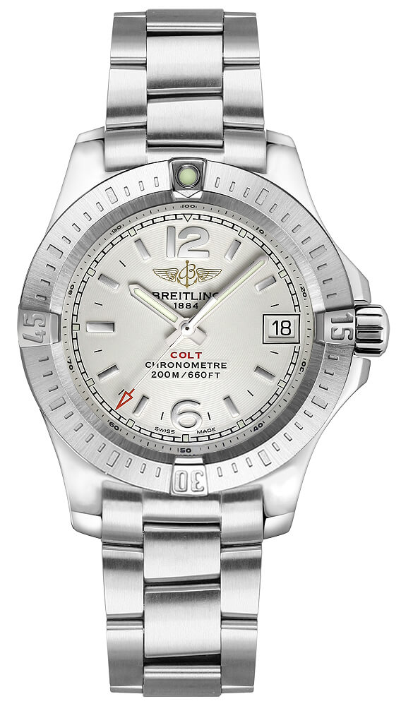 Breitling Colt Lady 33mm Ladies Model a77388111g1a1