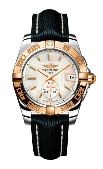 Breitling Galactic 36 Automatic Steel-Rose Gold Sahara Strap C3733012/A724/213X/A16BA.1