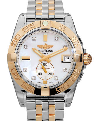 Breitling Galactic C3733012/A725/376C Women 36 mm Steel and Rose Gold Automatic
