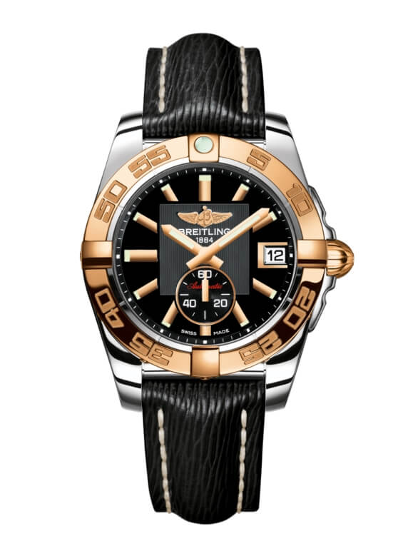 Breitling Galactic 36 Automatic Stainless Steel / Rose Gold / Volcano Black / Sahara (C3733012/BA54/213X/A16BA.1)