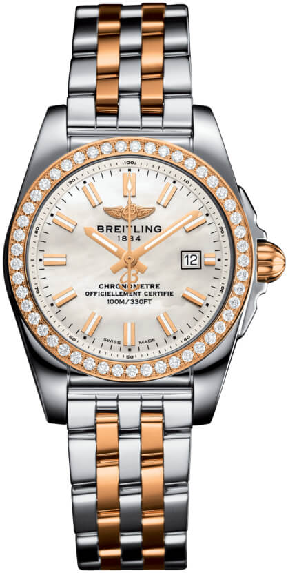 Breitling Galactic 29 Ladies Model c7234853/a791/791c