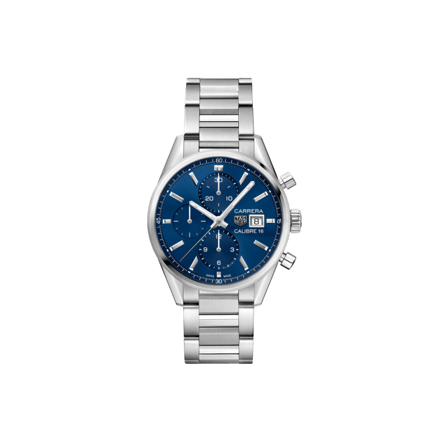 TAG Heuer Carrera Automatic Blue Dial Men\'s CBK2112.BA0715