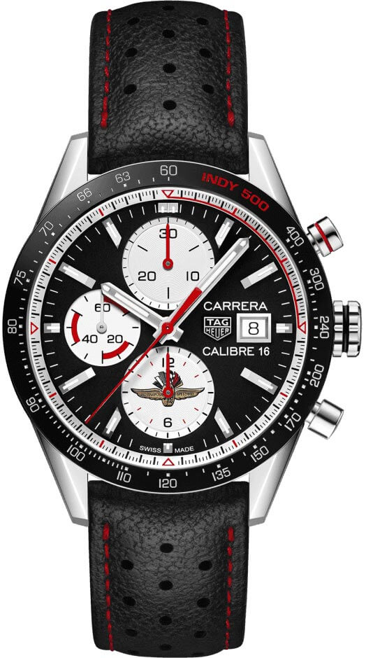 TAG Heuer Carrera INDY500 LIMITED EDITION CV201AS.FC6429