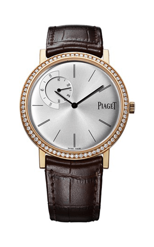 Piaget Altiplano Silver Dial 18K Rose Gold Diamond