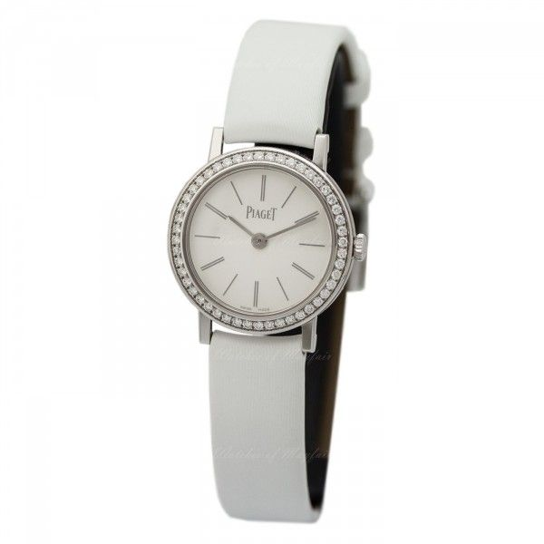 Piaget Altiplano White Dial White Satin Ladies