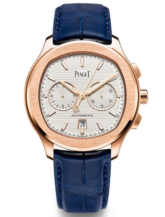 Piaget Polo S Chronograph Automatic White Dial Men's