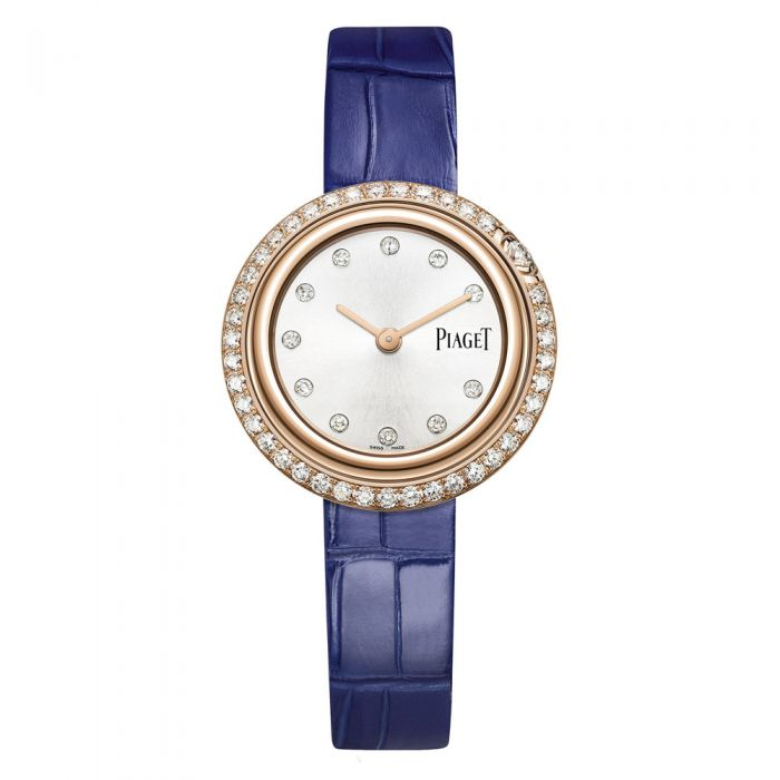 Piaget Possession Diamond Silver Dial Ladies 18K Rose Gold