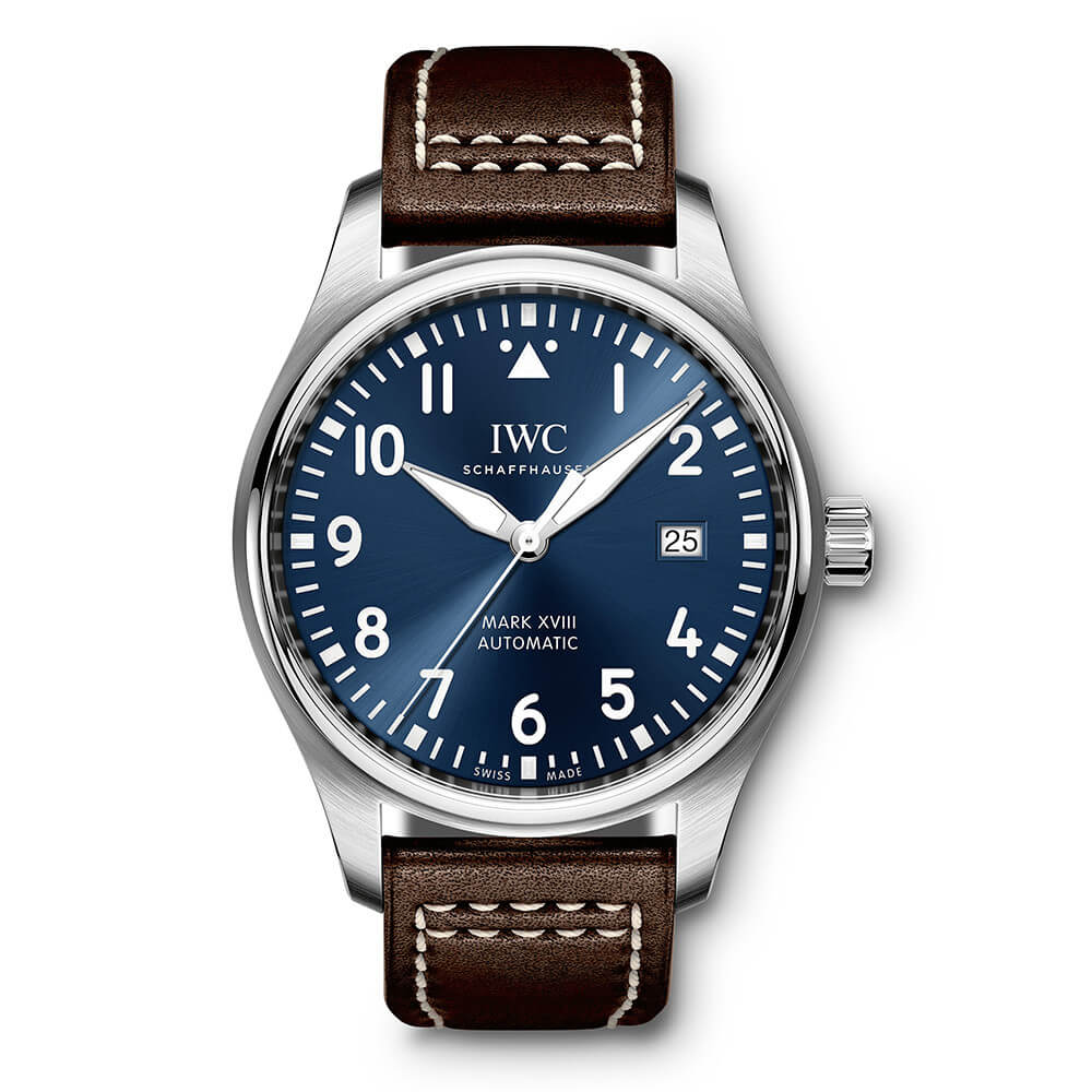 IWC Pilot Mark 18 Steel 40mm Automatic IW327010 Reproduction