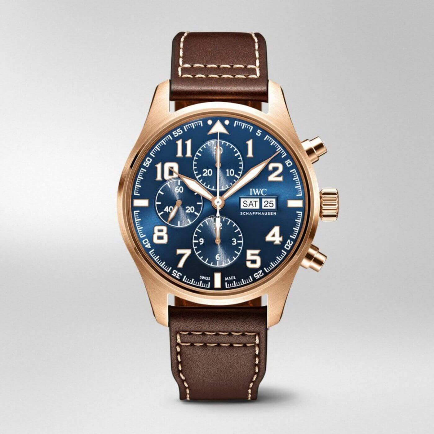 IWC Pilots Chronograph Edition Le Petit Prince Blue Dial Automatic IW377721 Reproduction