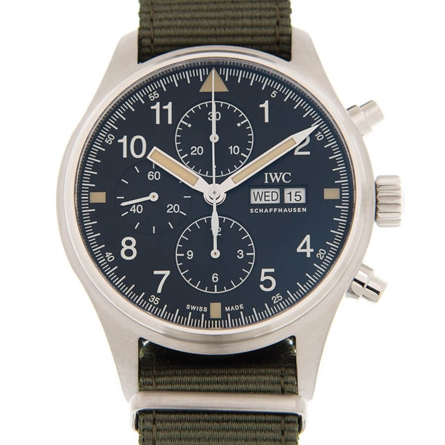 IWC Pilot Chronograph 43mm IW377724 Reproduction
