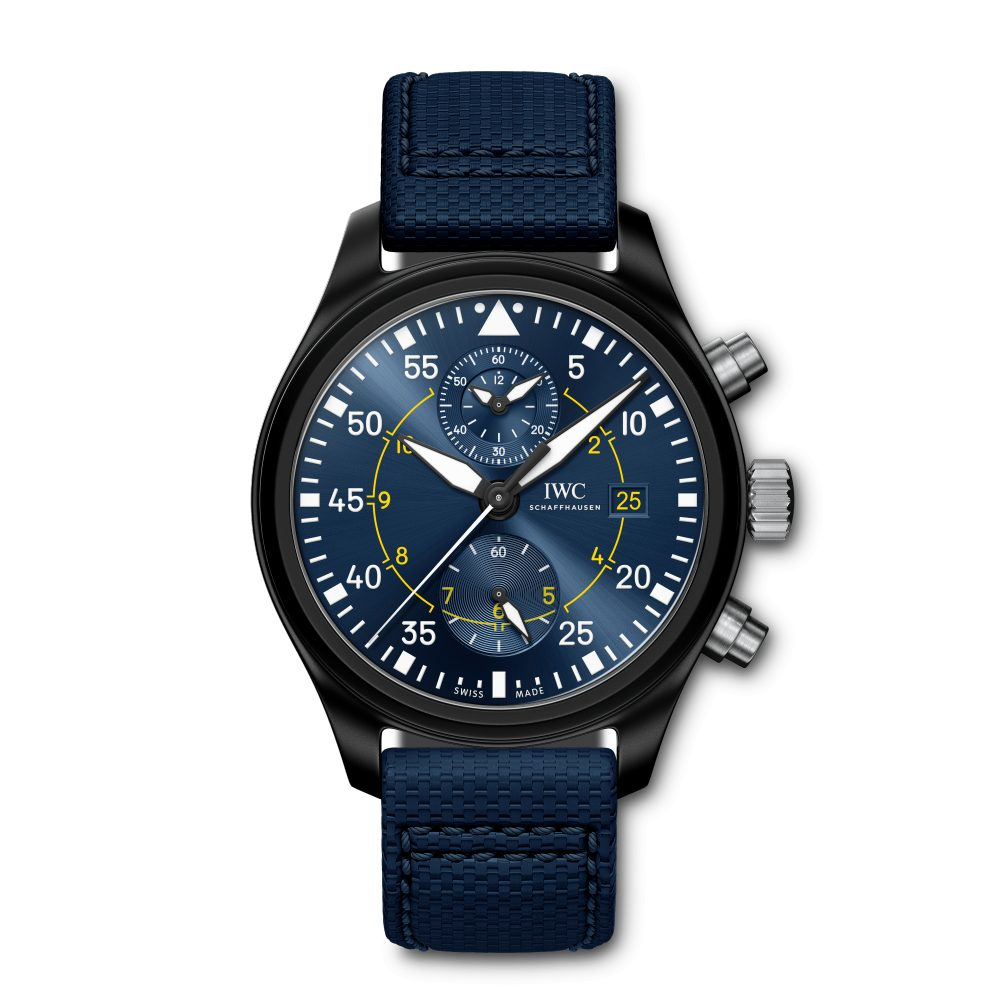 IWC Pilot's Chronograph Edition Blue Angels IW389008 Reproduction