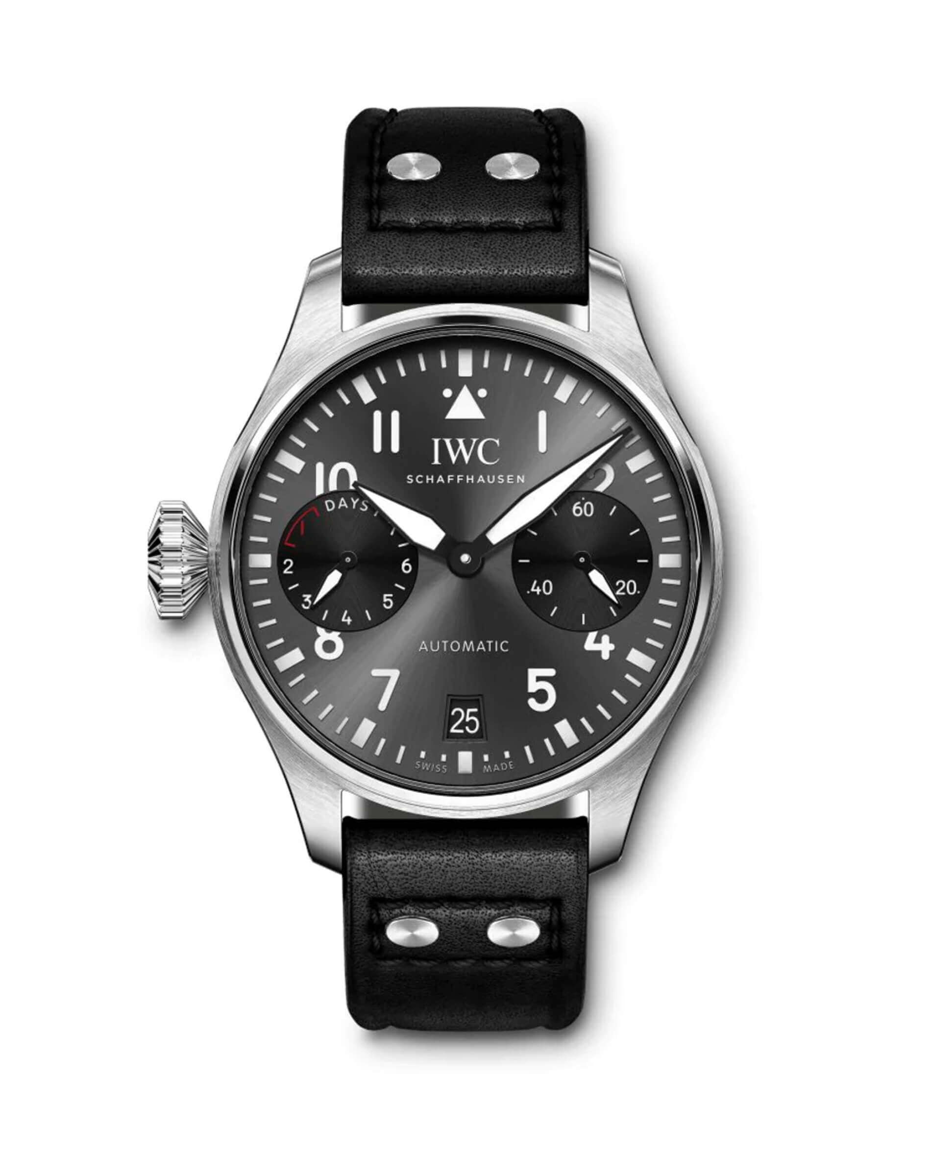 IWC Big Pilot's Edition Right-Hander 46mm Steel IW501012 Reproduction