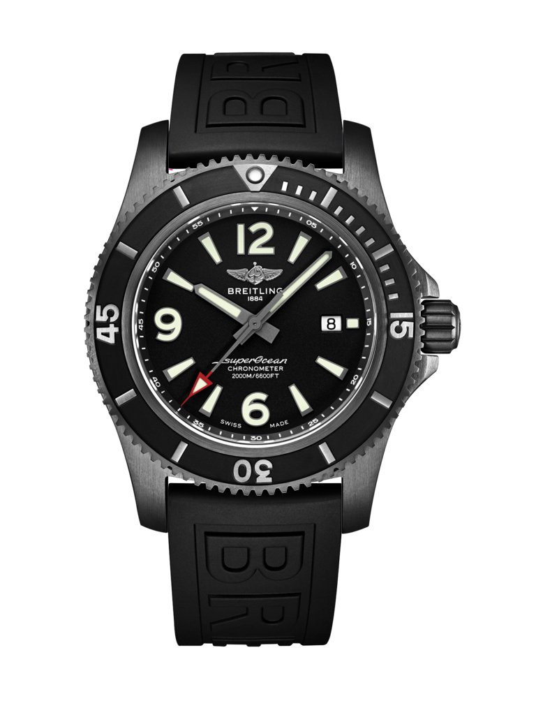 Breitling Superocean Automatic 46 Blacksteel