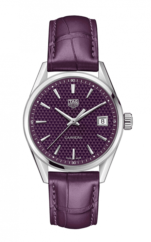 TAG Heuer Carrera Ladies Quartz Purple Dial Ladies WBK1314.FC8
