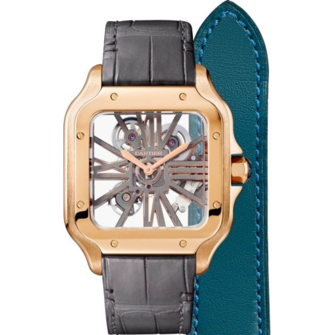 Cartier Santos Mechanical with Manual Winding WHSA0010 Unisex Reproduction