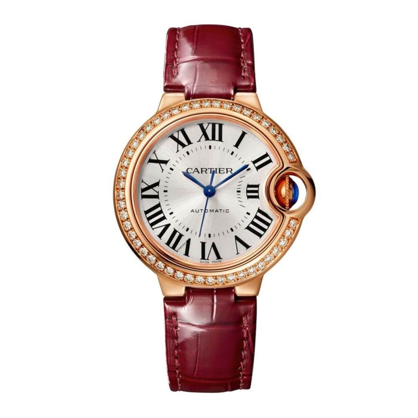 Cartier Ballon Bleu 33mm Automatic Self Wind WJBB0033 Womens Reproduction