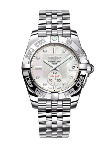 Breitling Galactic 36 Automatic Stainless Steel / Pearl Diamond / Bracelet (A3733012.A717.376A)