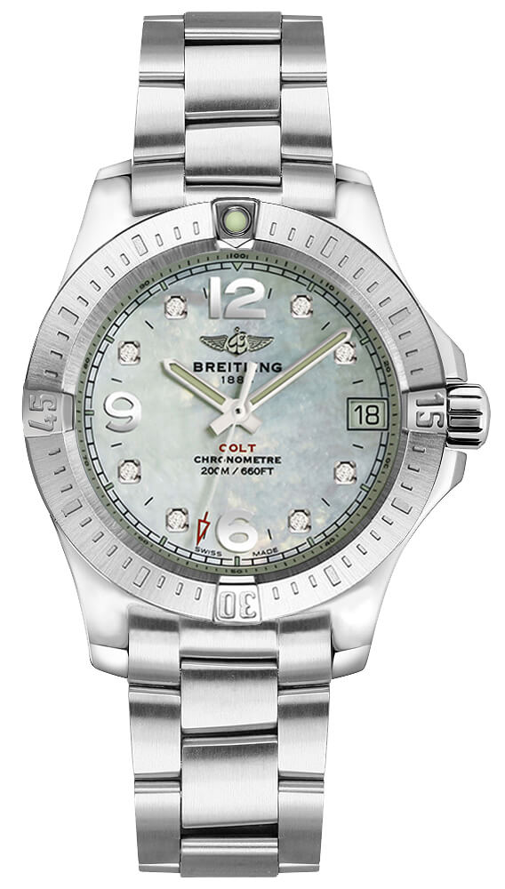 Breitling Colt Lady 33mm Ladies a7738811/a769