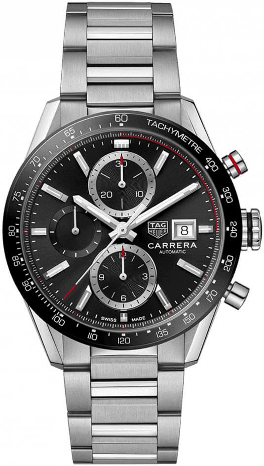 Tag Heuer Carrera Calibre 16 Chronograph 41mm Mens CBM2110.BA0651