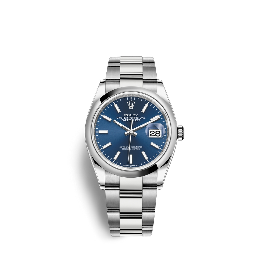 Rolex Datejust 36 Oystersteel M126200-0006 Blue Dial