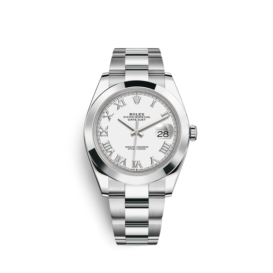 Rolex Datejust 41 Oystersteel M126300-0015 White Dial