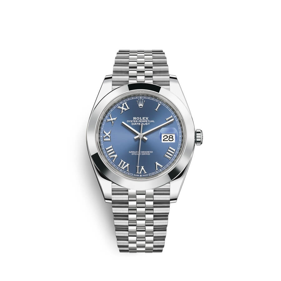 Rolex Datejust 41 Oystersteel M126300-0018 Blue Dial