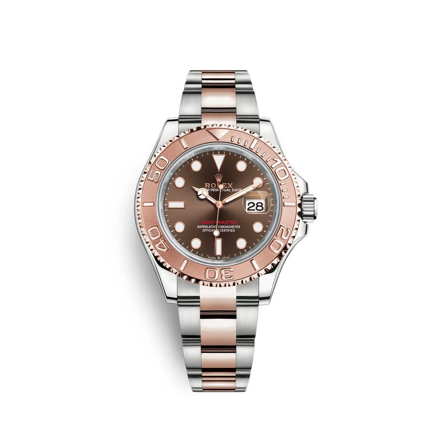 Rolex Yacht-Master 40 Oystersteel 18 ct Everose gold M126621-0001 Chocolate Dial