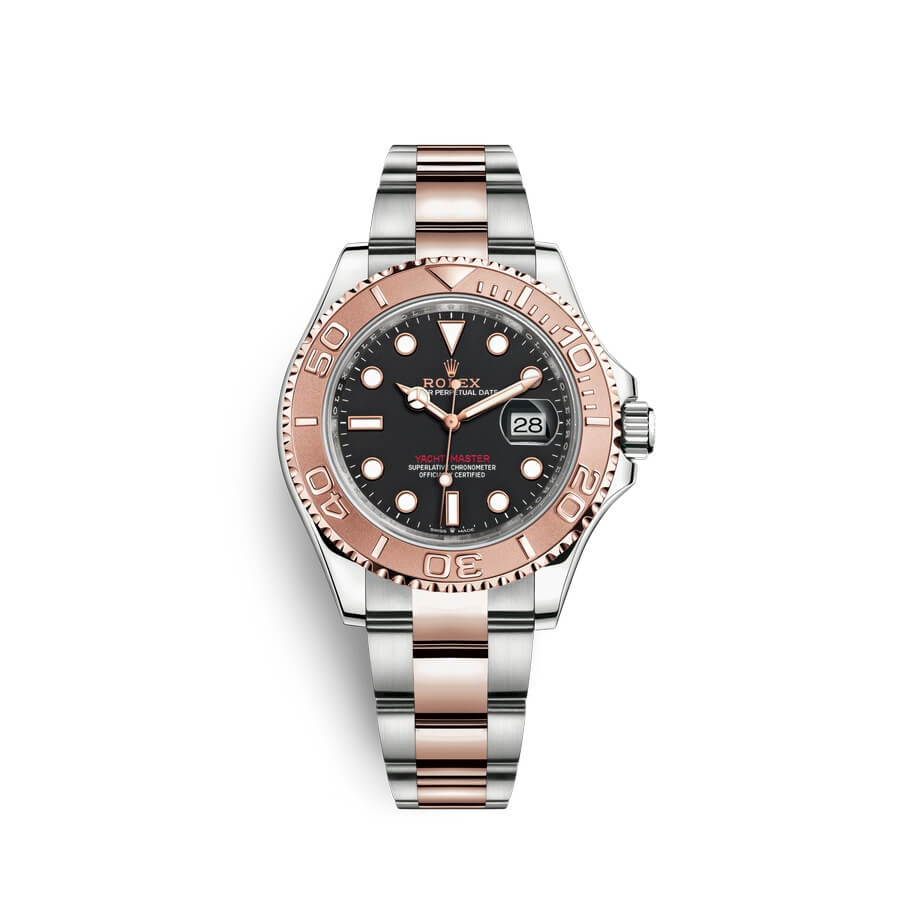 Rolex Yacht-Master 40 Oystersteel 18 ct Everose gold M126621-0002 Black Dial