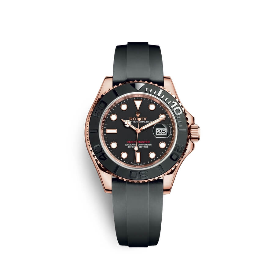 Rolex Yacht-Master 40 18 ct Everose gold M126655-0002 Black Dial