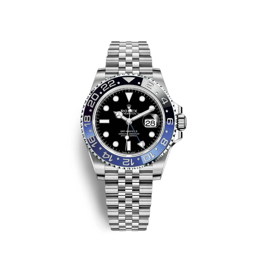 Rolex GMT-Master II Oystersteel M126710BLNR-0002 Black Dial