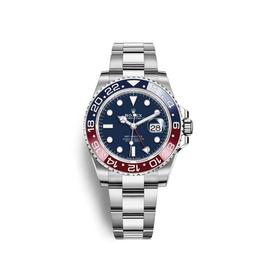 Rolex GMT-Master II 18 ct white gold M126719BLRO-0003 Blue Dial