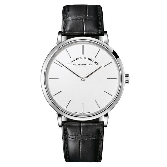A. Lange & Sohne Saxonia Thin Manual Wind 40mm Mens Watch 211.027 Replica