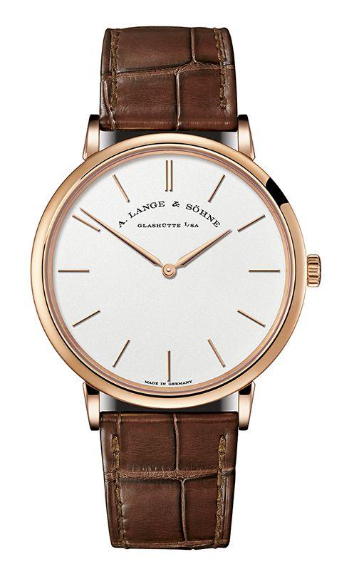 A. Lange & Sohne Saxonia Thin Manual Wind 40mm Mens Watch 211.033 Replica