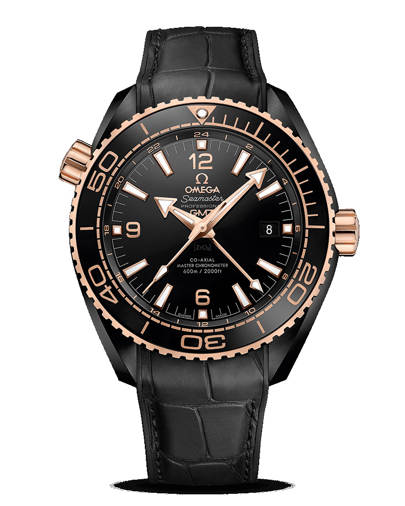 OMEGA Seamaster Planet Ocean 600 M Co-Axial Master CHRONOMETER GMT 45.5mm 215.63.46.22.01.001 Replica Watch
