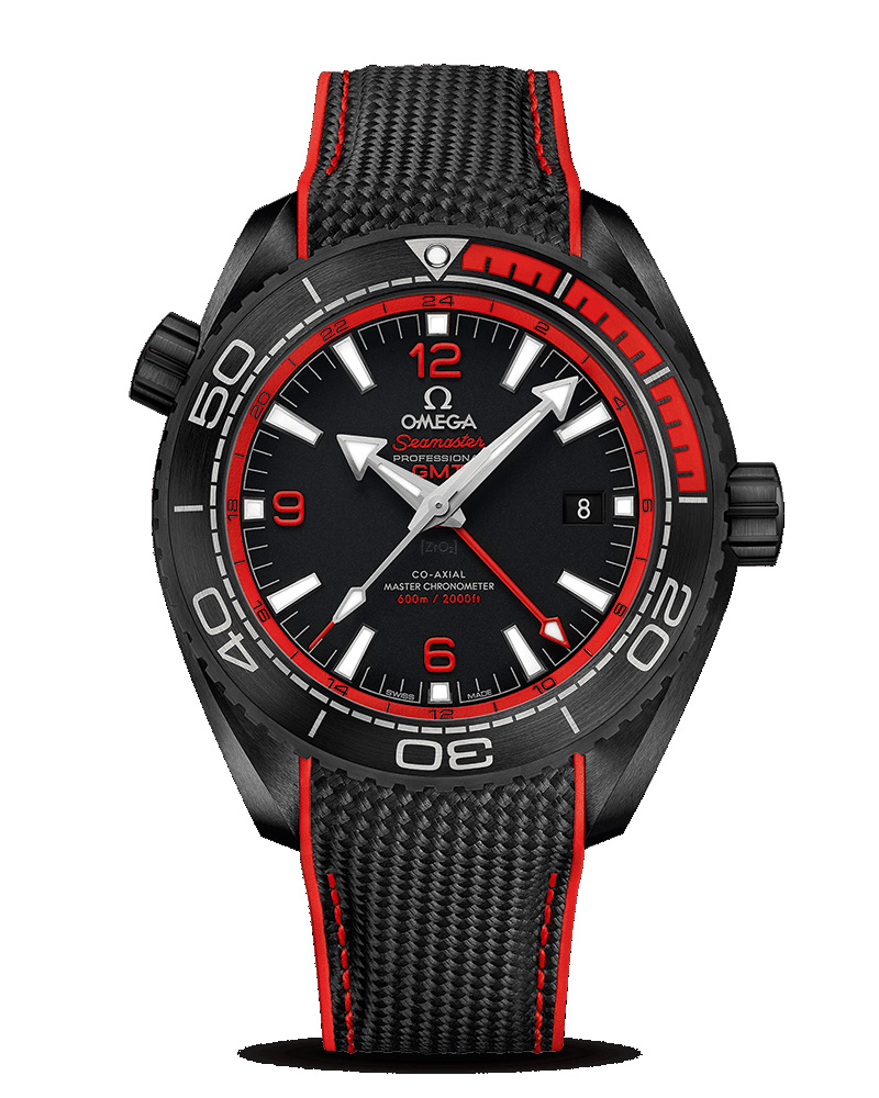 OMEGA Seamaster Planet Ocean 600 M Co-Axial Master CHRONOMETER GMT 45.5mm 215.92.46.22.01.003 Replica Watch