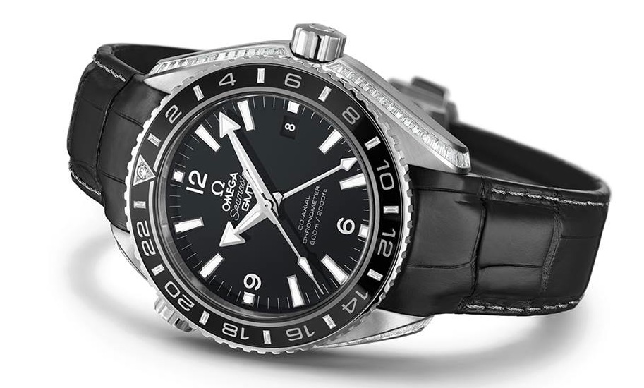 Omega Seamaster Planet Ocean 600 M Omega Co-axial GMT 43.5 mm