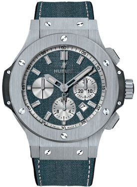 Hublot Big Bang Evolution Blue Jeans Chronograph Automatic Mens