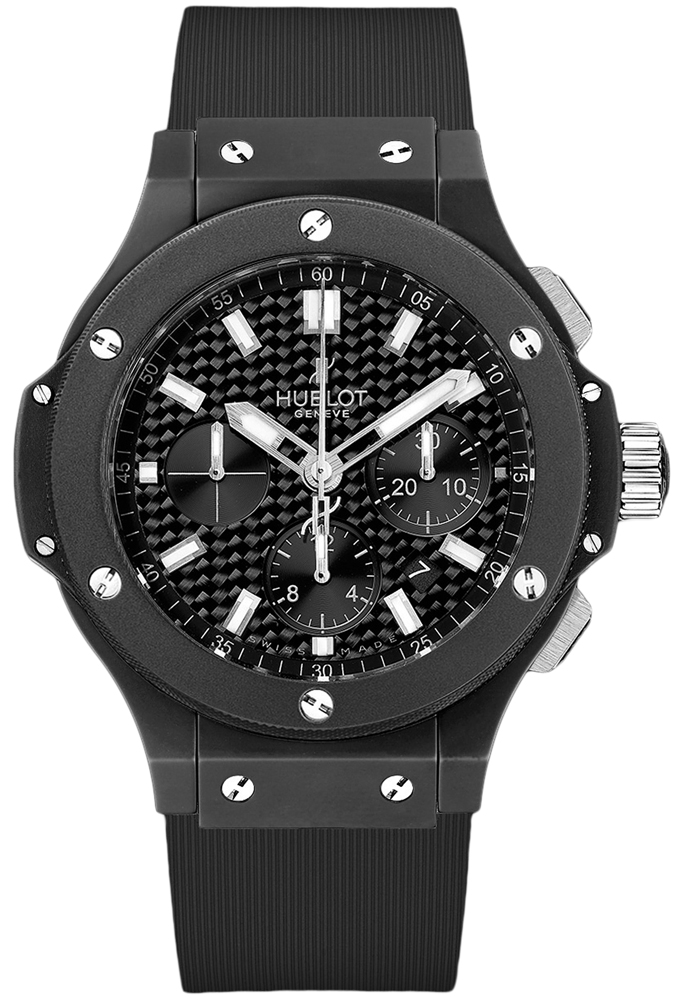 Hublot Big Bang Evolution Black Magic Ceramic Chronograph 301.CI
